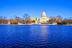 Capitol Building at Day, Washington DC royalty free stock image