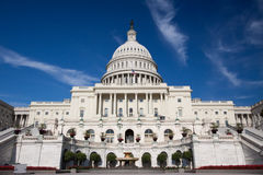 Capitol building in DC Stock Photo