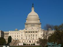 The Capitol building in DC Royalty Free Stock Images