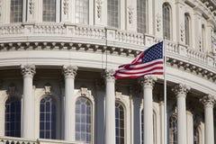 Capitol Building Detail, Washington, DC Royalty Free Stock Photo