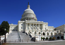 Capitol Building and Dome Stock Photo