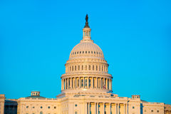 Capitol building dome Washington DC US congress Royalty Free Stock Image