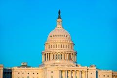 Capitol building dome Washington DC US congress Royalty Free Stock Image