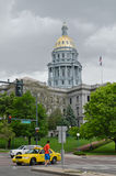 Capitol Building in downtown Denver Colorado Royalty Free Stock Images