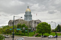 Capitol Building in downtown Denver Colorado Royalty Free Stock Photo