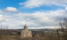 Capitol Building in Frankfort stock photo