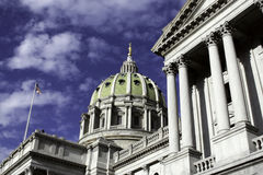 Capitol Building in Harrisburg, PA Stock Photo