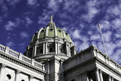 Capitol Building in Harrisburg, PA Royalty Free Stock Image