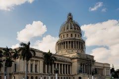 Capitol building in Havana Stock Image