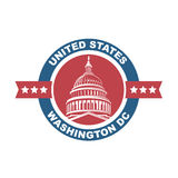 Capitol building icon Royalty Free Stock Photo