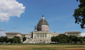 The Capitol Building in Irons Stock Images