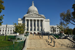 Capitol Building in Madison, Wisconsin Royalty Free Stock Photos