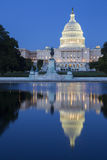 Capitol building at night. Royalty Free Stock Photos