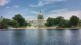 Capitol Building Pond royalty free stock image