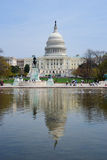 Capitol Building with reflection, Washington DC Stock Photography