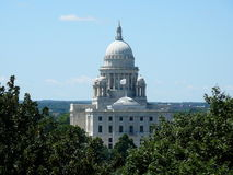 Capitol Building of Rhode Island. View of the Capitol Building of Providence, Rhode Island Stock Photos