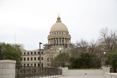 Capitol building state of Mississippi background. Capitol building state of Mississippi, Jackson Mississippi USA Stock Photos