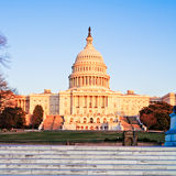 Capitol Building at Sunset, Washington DC Stock Images