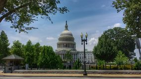 Capitol Building in the trees royalty free stock photos