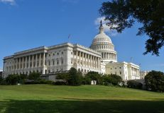 Capitol Building. U.S Capitol Building in Washington D.C Royalty Free Stock Photo