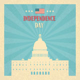 Capitol Building United States Of America Senate House Independence Day Royalty Free Stock Images