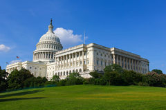 Capitol Building. United States Capitol Building in Washington DC Stock Photography
