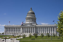 The capitol building of Utah Stock Image