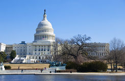 Capitol Building in Washington, DC Royalty Free Stock Image