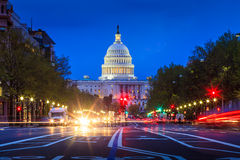 Capitol building in Washington DC Stock Image