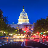 Capitol building in Washington DC Stock Photos