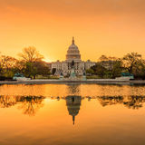 Capitol building in Washington DC Royalty Free Stock Image