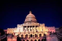 Capitol building Washington DC night  US Stock Images