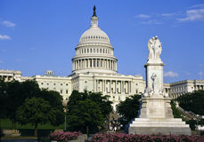 Capitol Building - Washington DC - United States. The Capitol Building in Washington DC in the United States of America stock images