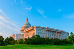 Capitol building Washington DC US congress Stock Photo