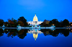 The Capitol Building, Washington DC, USA Royalty Free Stock Image