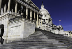 The Capitol Building Royalty Free Stock Photography