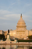 Capitol Building in Washington DC USA in spring Royalty Free Stock Photography