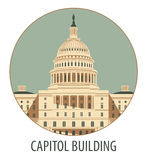 Capitol Building in Washington Stock Image