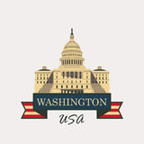 Capitol Building in Washington Royalty Free Stock Images