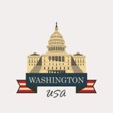 Vector Capitol Building Logo Stock Vector - Image: 49673923