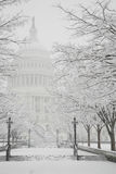 Capitol Building, winter, Washington, DC, USA Stock Photo