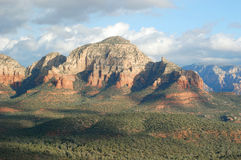 Capitol Butte Rock in Sedona, AZ Stock Image