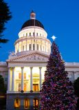 Capitol Christmas Tree Stock Images
