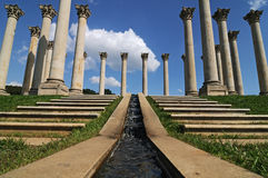 Capitol Columns Stock Photos