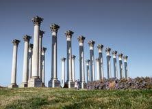 Capitol Columns National Arboretum Washington DC stock photos