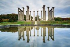 Capitol Columns Washington DC Autumn Royalty Free Stock Photos