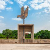 Capitol Complex, Chandigarh. The Open Hand Monument is a symbolic structure located in the Indian Union Territory of Chandigarh, India royalty free stock photos