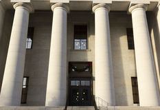 Capitol d'état à Columbus OH images libres de droits
