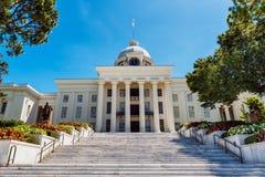 Capitol d'état à Montgomery, Alabama Photos stock