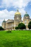 Capitol d'état de Des Moines Iowa Photographie stock